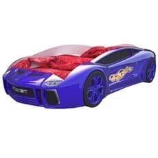 Кровать машина Карлсон Ламба Next Синяя