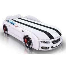 Детская кровать машина Romack Mebel Real-M BMW X5 белая