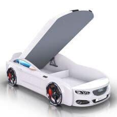 Детская кровать машина Romack Mebel Real-M Audi A7 белая