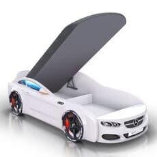 Детская кровать машина Romack Mebel Real-M Mercedes AMG белая