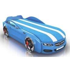 Детская кровать машина Romack Mebel Real-M Mercedes AMG голубая