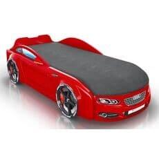Детская кровать машина Romack Mebel Real-M Audi A7 красная