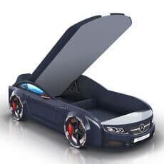Детская кровать машина Romack Mebel Real-M Mercedes AMG черная