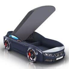 Детская кровать машина Romack Mebel Real-M BMW X5 черная