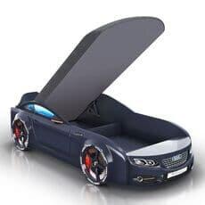 Кровать машина Romack Mebel Real-M Audi A7 черная