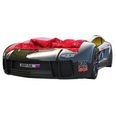 Кровать машина Карлсон Ламба Next черная с подъемным механизмом