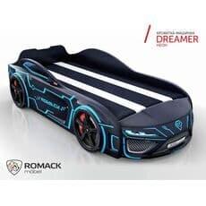 Детская кровать машина Romack Dreamer 2018 Неон (Ромак Дример)