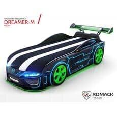 Кровать машина Romack Dreamer M Неон (Ромак Дример М)