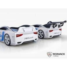 Кровать машина Romack Dreamer-M Plus Полиция белая (Ромак Дример-М)