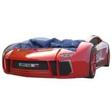 Кровать машина Карлсон Ламба Next Красная с подъемным механизмом